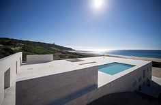 house of the infinite #spain #white #homes #pool #architecture #minimalist #beach