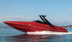 This 1990 Riva Ferrari 32 Speedboat Will Take Your Breath Away ... #Riva #Ferrari #Speedboat