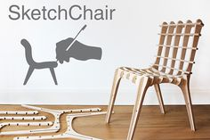 Bring your creative vision to life with Sketchchair's #diy #furniture #design application. The pieces gets shipped to your house, then you a
