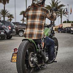 Whatever, Let's Ride!!#BobberLife Rider Profile @migpinphoto #KustomLifestyle Bobber Chopper Harley Davidson Motorcycle Lifestyle Custom Cul