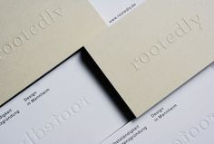 Rootedly by Studio Britz #graphic design #stationary #print