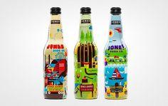 Projects Â« Superbig Creative #packaging #soda #illustration #jones