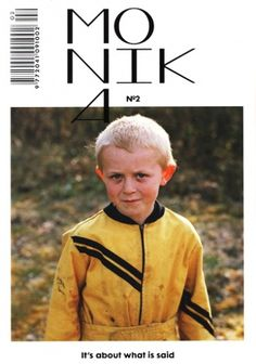 HUH. Magazine - Monika N?02 #photography #magazine