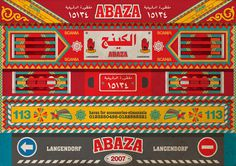 tailing art on Behance #truck #folklore #folk #egypt #maximalism #back #art #street
