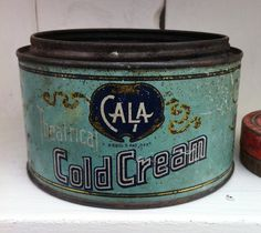 Vintage Flea Market Finds - TheDieline.com - Package Design Blog #tins #packaging #print #vintage #typography
