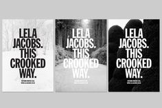 FFFFOUND! | crooked-2.jpg 800×533 pikseliä #white #black #typography
