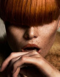 iainclaridge.net #red #woman #head #skin #hair #fashion #face