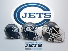 Dribbble - Coventry Jets Rebrand by Fraser Davidson #sport #branding #design #jets #logo #football