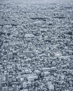 Cyberpunk and Futuristic Urban Landscapes by Yoshito Hasaka