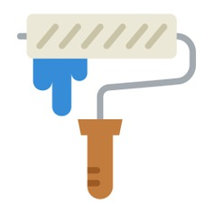 See more icon inspiration related to painter, paint roller, home repair, improvement, construction and tools and Tools and utensils on Flaticon.