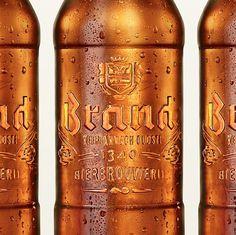 Brand Bier Bottles #packaging #beer #label #bottle