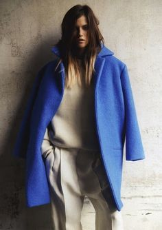 blue #lookbook #fall #unknown #fashion #ource