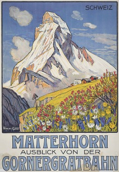 François Gos (1880-1975)   MATTERHORN   posters, ski & winter sports   Christie's