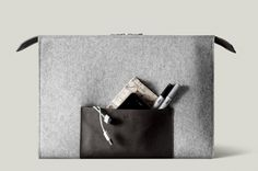 hard graft / All in One Laptop Folio 15 #handmade #bags #laptop