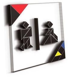 Wayfinding | Signage | Sign | Design | 几何图形拼接标识