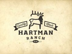 Hartman Ranch Meats #logo