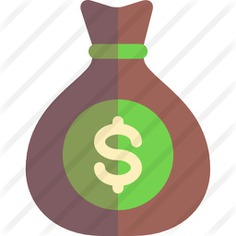See more icon inspiration related to money, bank, money bag, business, currency, banking and dollar symbol on Flaticon.