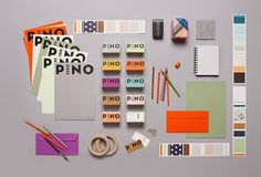 Graphic-ExchanGE - a selection of graphic projects #pino #stationary
