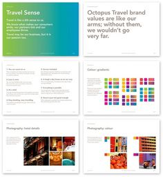 Saffron Brand Consultants » Octopus Travel #branding #guide #guidelines #corporate #style