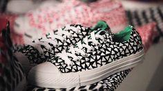 The Fox Is Black » Marimekko Kicks It With Converse #marimekko #pattern #converse #shoes