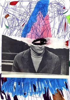 Claudio Parentela's collages