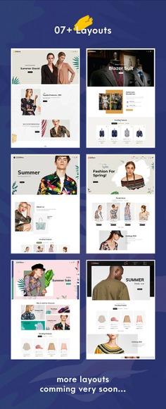 #Monstera #Fashion #Boutique - #Shopify Multi-purpose Responsive #Theme | #TemplateTrip #eCommerce #Website #Design