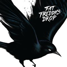 FFD Blackbird Album Cover #fat #drop #freddys #bird