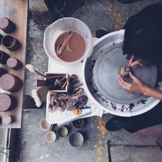 Andrea Roman ceramics pic by Anna Jacobsen #andrea #roman #clay #ceramics #pottery #anna #jacobsen