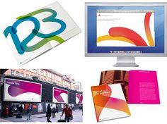 Saffron Brand Consultants » Octopus Travel #branding #round #color #stroke #soft #gradient