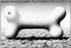 KILLOFFER • Galerie Anne Barrault #killoffer #surreal #drawing #art