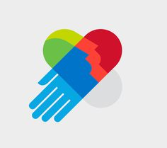 AIGA Design For Good Logo/Identity by © mkn-design – Michael Nÿkamp #head #heart #hand