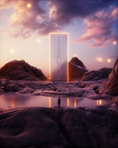 Dreamlike Photo Manipulations by Mikko Raima