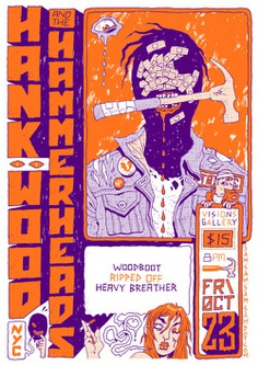 Hank Wood & The Hammerheads / WOODBOOT / Ripped Off / Heavy Breather