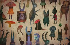 vladimir 0 #stankovic #illustration #monster #character #creature