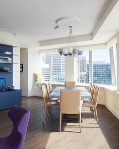 dining room, San Francisco Apartment , Bjørn Design