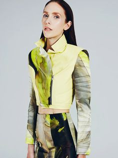 Hildie Gifstad by Felix Wong for Mikhael Kale's Collection
