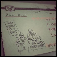 All sizes | My hate mail arrived from @Mr_Bingo today, it's fucking brilliant! | Flickr - Photo Sharing! #illustration #bingo #mr