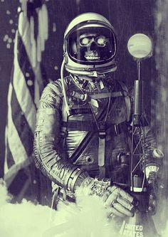 40 rovers #astronaut #skull #space