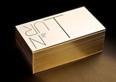 Gold Foil Stationery by Turnstyle #print #design #graphic