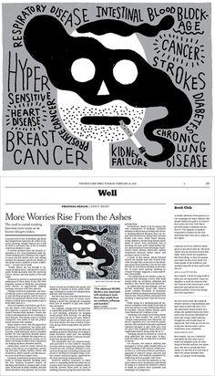 The New York Times / Benoit Tardif / Montreal #times #benoit #tardif #york #smoking #science #new