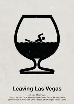 Merde! - stanpolito: 'Leaving Las Vegas' pictogram movie... #design #graphic
