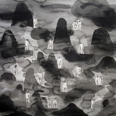 nudebeach-1.jpg #illustration #ink