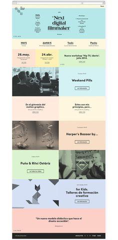 Web Mr Marcel School — Tata&Friends — Design Studio