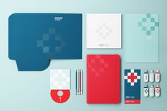 Croatian Institute for Health Insurance #branding #identity #health #croatia