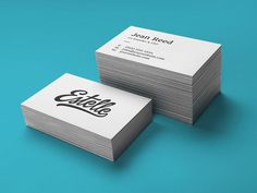 Free Letterpress Business Cards Mockups