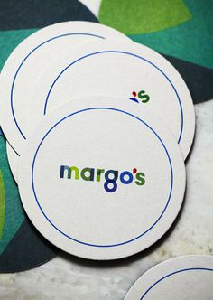 http://studiobrave.com.au/files/gimgs/98_margoscoasters.jpg #branding #design #coasters #cafe #identity