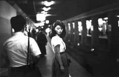 Tokyo, metro station #photography #vintage #black and white #tokyo #girl #subway #train #beauty #commuter