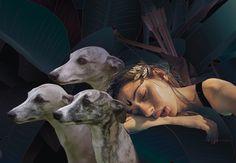 Sleeping Diana by Maria Umiewska