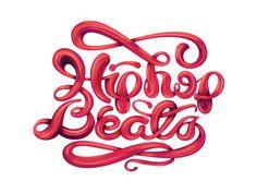 Typeverything.com -Hip Hop Beatsby Jovan Velez.(ViaTypophileGangsta)