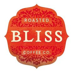 Roasted Bliss coffee logo | Flickr - Photo Sharing! #logo #illustration #identity #typography